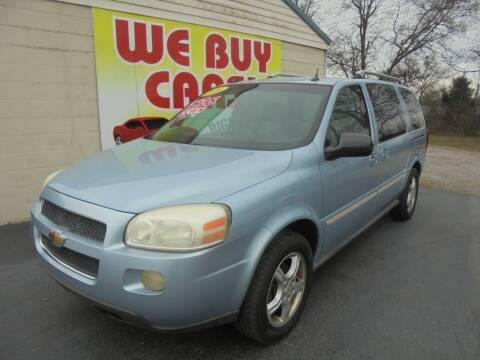 2006 Chevrolet Uplander for sale at Right Price Auto Sales in Murfreesboro TN
