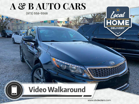 2014 Kia Optima Hybrid for sale at A & B Auto Cars in Newark NJ