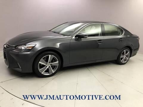 2017 Lexus GS 350 for sale at J & M Automotive in Naugatuck CT