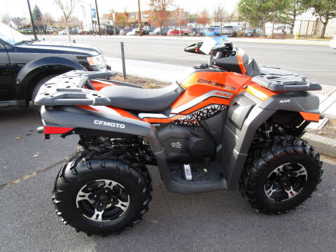 2021 CF Moto cforce 600 lava orange for sale at Miller's Economy Auto in Redmond OR