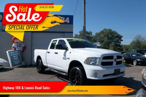 2014 RAM Ram Pickup 1500 for sale at Highway 100 & Loomis Road Sales in Franklin WI