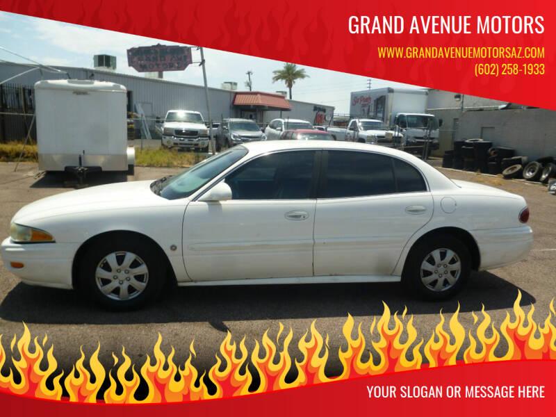 2003 Buick LeSabre for sale at Grand Avenue Motors in Phoenix AZ