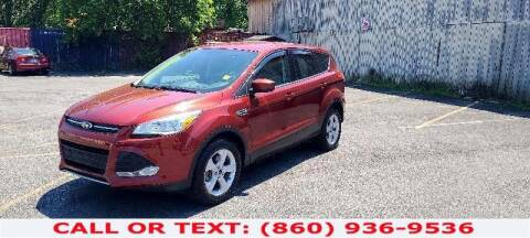 2014 Ford Escape for sale at Lee Motor Sales Inc. in Hartford CT