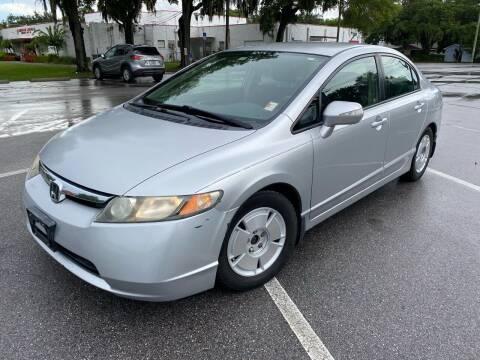 2008 Honda Civic for sale at CHECK AUTO, INC. in Tampa FL