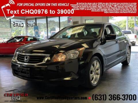 2008 Honda Accord for sale at CERTIFIED HEADQUARTERS in Saint James NY