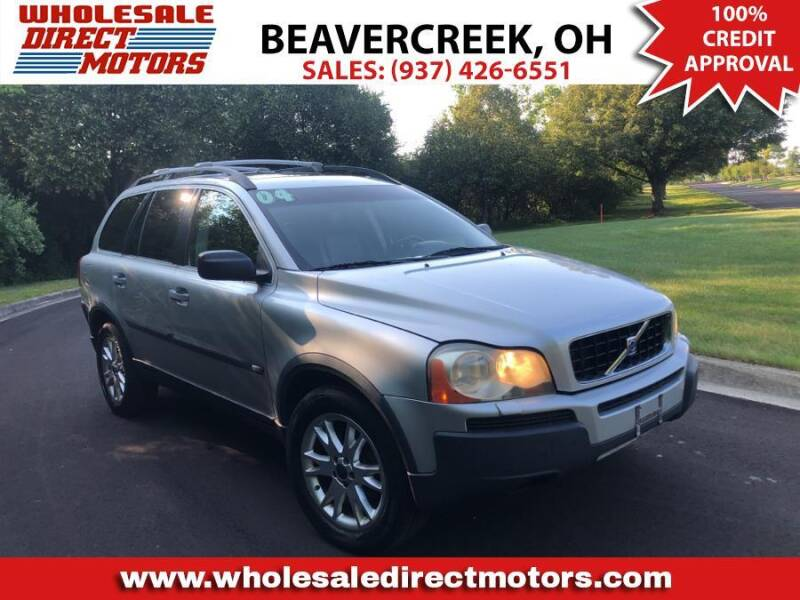 2004 Volvo XC90 for sale at WHOLESALE DIRECT MOTORS in Beavercreek OH