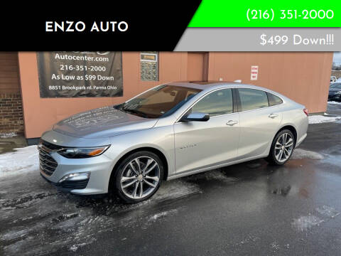 2021 Chevrolet Malibu for sale at ENZO AUTO in Parma OH