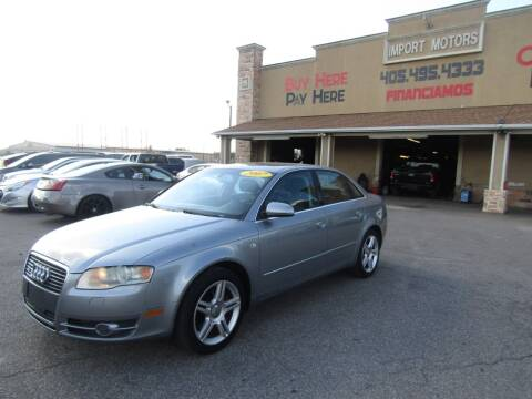 2007 Audi A4 for sale at Import Motors in Bethany OK