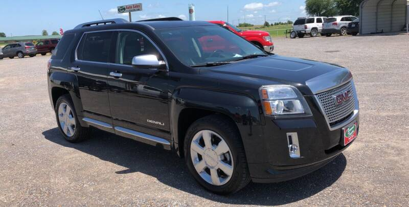 2013 GMC Terrain for sale at RAYMOND TAYLOR AUTO SALES in Fort Gibson OK