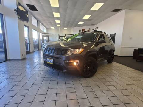 2018 Jeep Compass for sale at Lucas Auto Center in South Gate CA