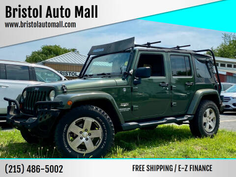 2008 Jeep Wrangler Unlimited for sale at Bristol Auto Mall in Levittown PA