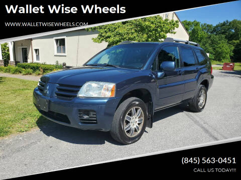 2004 Mitsubishi Endeavor for sale at Wallet Wise Wheels in Montgomery NY