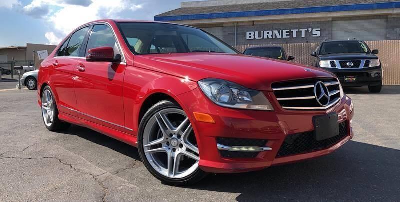 2014 Mercedes-Benz C-Class for sale at Cars 2 Go in Clovis CA
