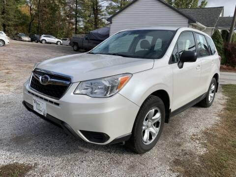 2014 Subaru Forester for sale at Williston Economy Motors in Williston VT