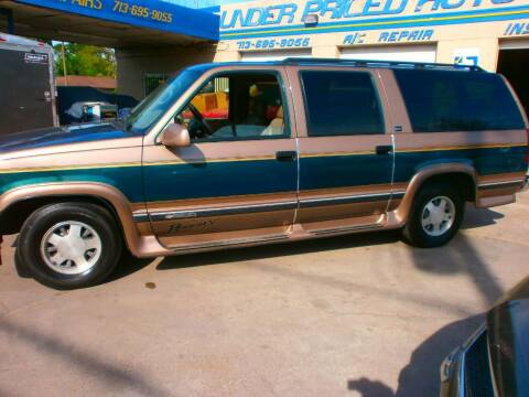 1997 Chevrolet Suburban for sale at Under Priced Auto Sales in Houston TX