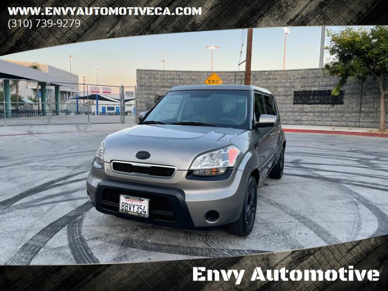 2011 Kia Soul for sale at Envy Automotive in Studio City CA