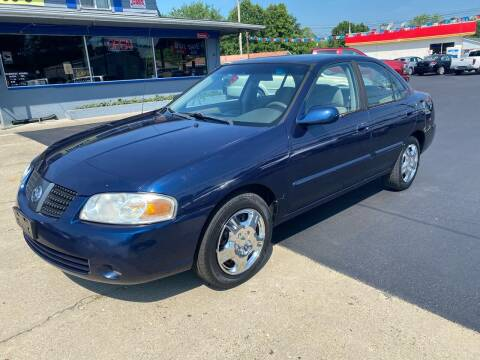 2006 Nissan Sentra for sale at Wise Investments Auto Sales in Sellersburg IN