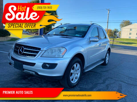 2007 Mercedes-Benz ML350 for sale at PREMIER AUTO SALES in Martinsburg WV