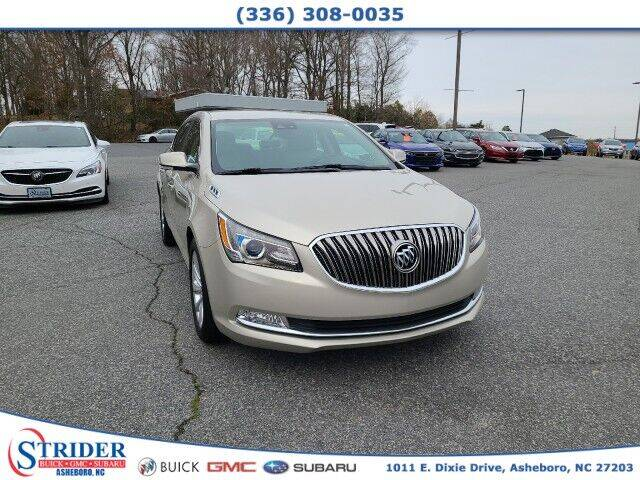 2015 Buick LaCrosse for sale at STRIDER BUICK GMC SUBARU in Asheboro NC
