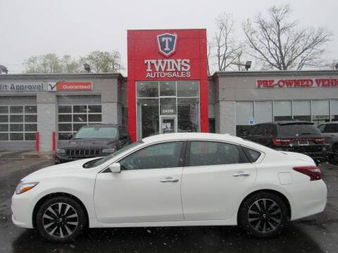 2018 Nissan Altima for sale at Twins Auto Sales Inc in Detroit MI