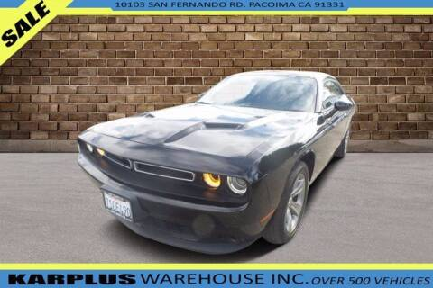 2016 Dodge Challenger for sale at Karplus Warehouse in Pacoima CA