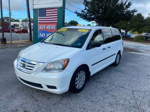 2009 Honda Odyssey for sale at Import Auto Mall in Greenville SC