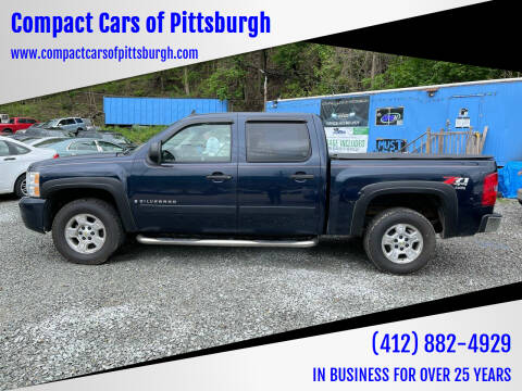 2007 Chevrolet Silverado 1500 for sale at Compact Cars of Pittsburgh in Pittsburgh PA