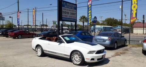 2010 Ford Mustang for sale at S.A. BROADWAY MOTORS INC in San Antonio TX