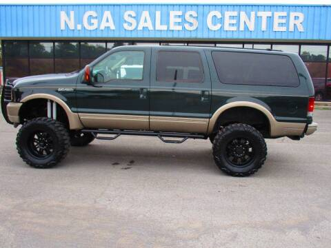 2004 Ford Excursion for sale at NORTH GEORGIA Sales Center in La Fayette GA