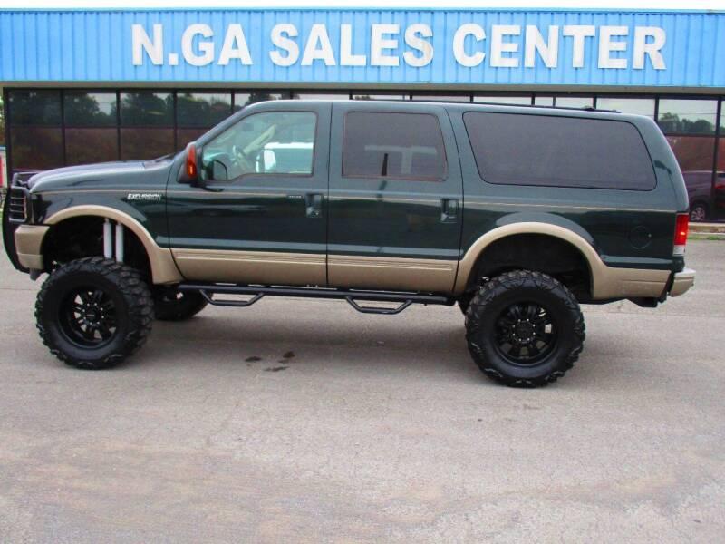 2004 Ford Excursion for sale at NORTH GEORGIA Sales Center in La Fayette GA