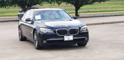 2011 BMW 7 Series for sale at America's Auto Financial in Houston TX