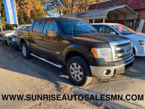 2013 Ford F-150 for sale at Sunrise Auto Sales in Stacy MN