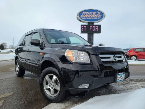 2008 Honda Pilot for sale at Monkey Motors in Faribault MN