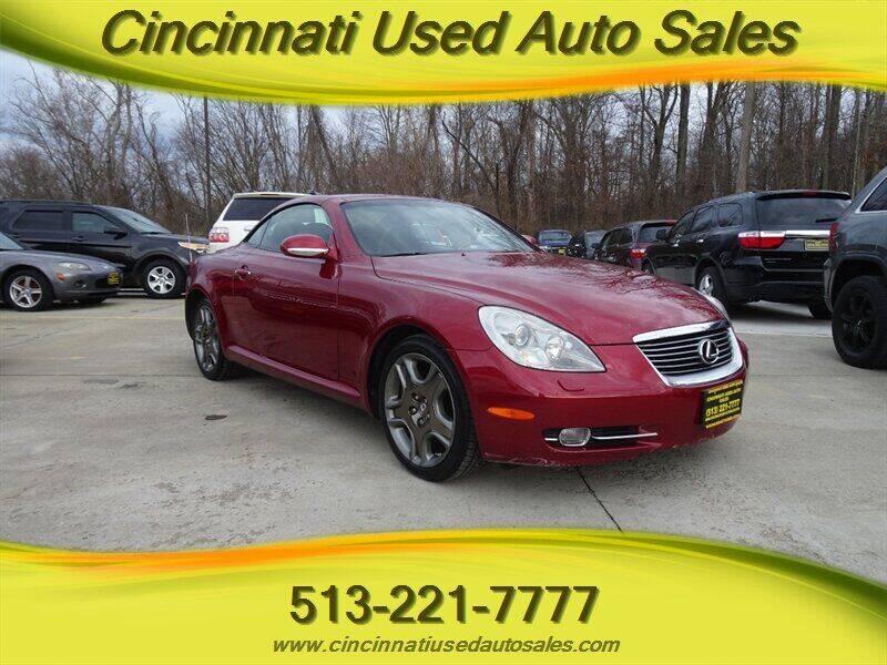 2006 Lexus SC 430 for sale at Cincinnati Used Auto Sales in Cincinnati OH