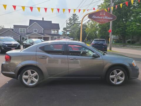 2013 Dodge Avenger for sale at Shattuck Motors in Newport VT