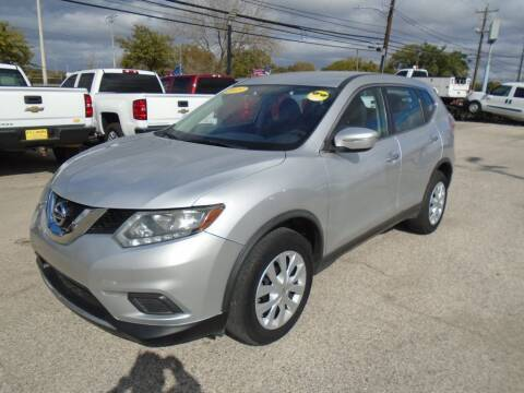 2015 Nissan Rogue for sale at BAS MOTORS in Houston TX