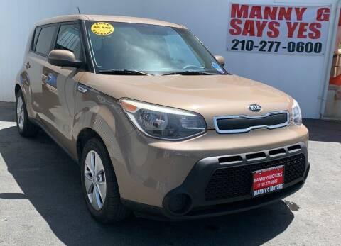 2015 Kia Soul for sale at Manny G Motors in San Antonio TX
