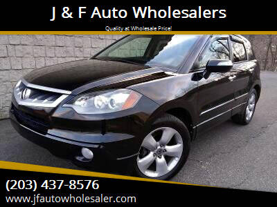 2008 Acura RDX for sale at J & F Auto Wholesalers in Waterbury CT