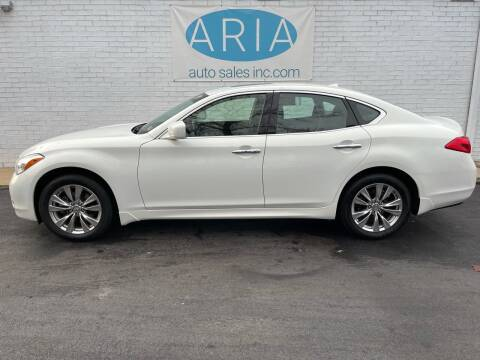 2012 Infiniti M37 for sale at ARIA  AUTO  SALES in Raleigh NC