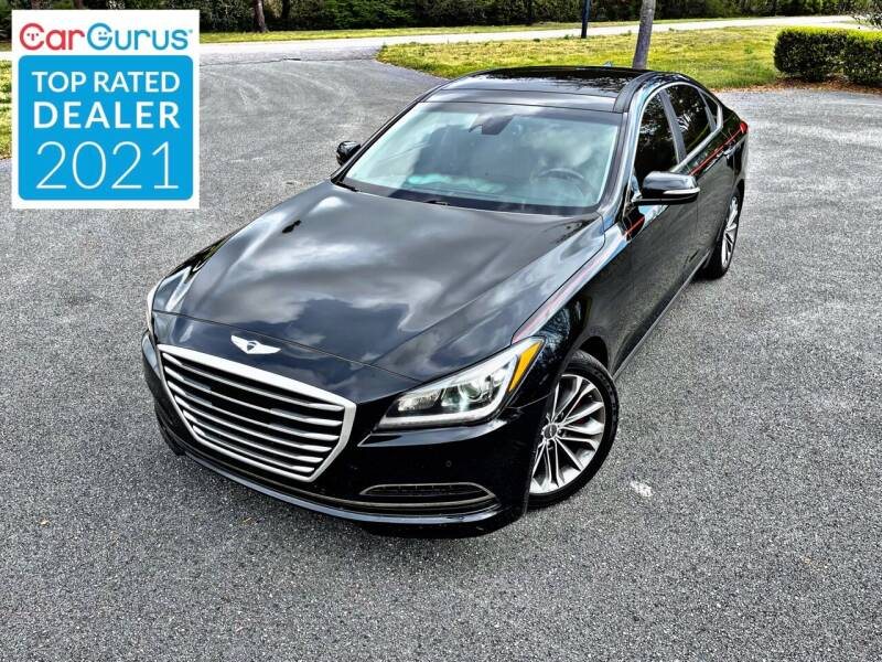 2015 Hyundai Genesis for sale at Brothers Auto Sales of Conway in Conway SC
