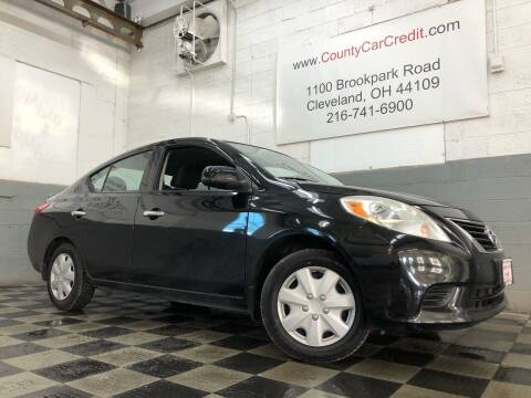 2014 Nissan Versa for sale at County Car Credit in Cleveland OH
