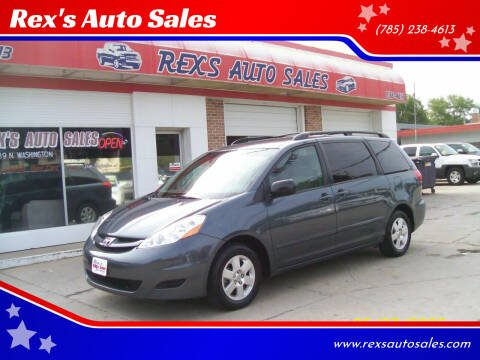 2010 Toyota Sienna for sale at Rex's Auto Sales in Junction City KS