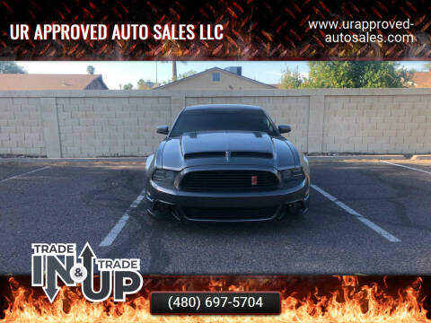 2014 Ford Mustang for sale at UR APPROVED AUTO SALES LLC in Tempe AZ
