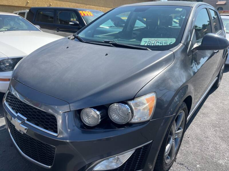 2013 Chevrolet Sonic for sale at CARZ in San Diego CA