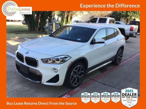 2018 BMW X2 for sale at Dallas Auto Finance in Dallas TX
