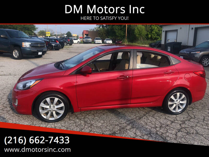 2013 Hyundai Accent for sale at DM Motors Inc in Maple Heights OH