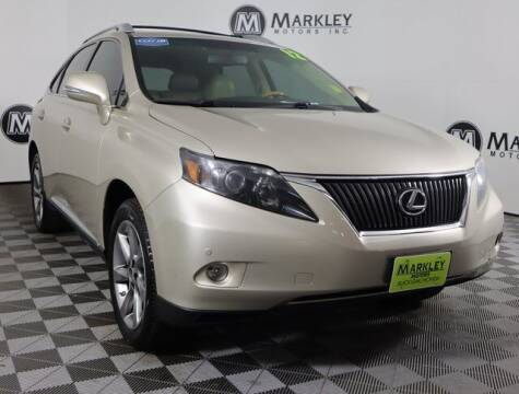 2012 Lexus RX 350 for sale at Markley Motors in Fort Collins CO