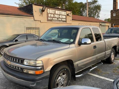 2002 Chevrolet Silverado 1500 for sale at COLT MOTORS in Saint Louis MO