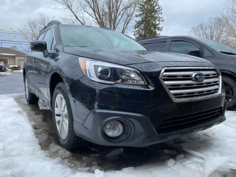 2017 Subaru Outback for sale at Auto Exchange in The Plains OH