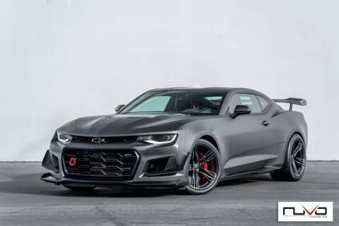 2018 Chevrolet Camaro for sale at Nuvo Trade in Newport Beach CA